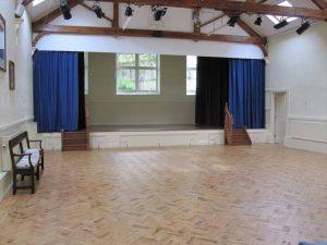 Mere Lecture Hall interior